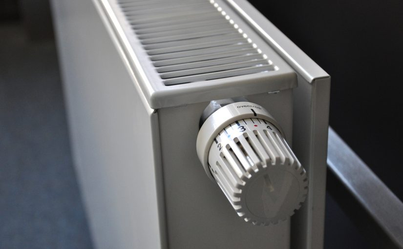Badkamer verwarming om warm te blijven
